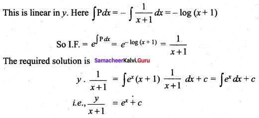 Samacheer Kalvi 12th Maths Solutions Chapter 10 Ordinary Differential Equations Ex 10.7 53