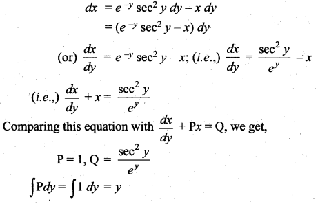 Samacheer Kalvi 12th Maths Solutions Chapter 10 Ordinary Differential Equations Ex 10.7 55