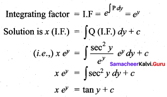Samacheer Kalvi 12th Maths Solutions Chapter 10 Ordinary Differential Equations Ex 10.7 56