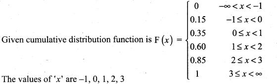 Samacheer Kalvi 12th Maths Solutions Chapter 11 Probability Distributions Ex 11.2 11