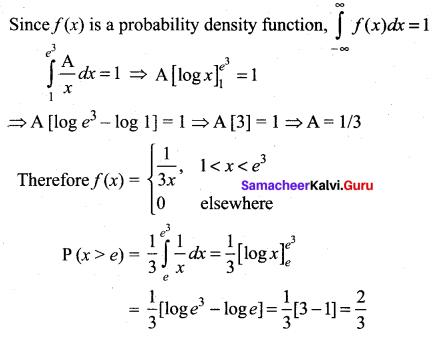 Samacheer Kalvi 12th Maths Solutions Chapter 11 Probability Distributions Ex 11.2 26