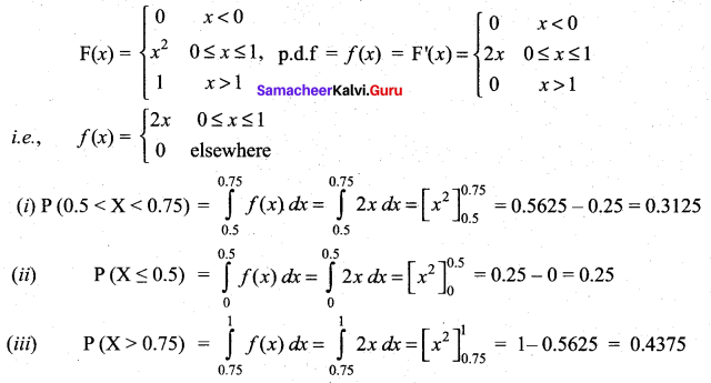 Samacheer Kalvi 12th Maths Solutions Chapter 11 Probability Distributions Ex 11.2 288