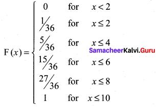 Samacheer Kalvi 12th Maths Solutions Chapter 11 Probability Distributions Ex 11.2 4