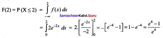 Samacheer Kalvi 12th Maths Solutions Chapter 11 Probability Distributions Ex 11.3 20