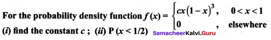 Samacheer Kalvi 12th Maths Solutions Chapter 11 Probability Distributions Ex 11.3 21