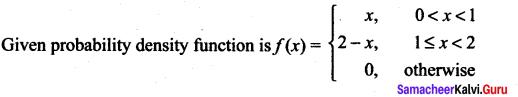 Samacheer Kalvi 12th Maths Solutions Chapter 11 Probability Distributions Ex 11.3 3
