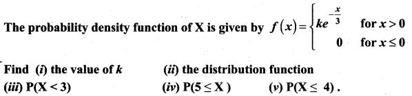 Samacheer Kalvi 12th Maths Solutions Chapter 11 Probability Distributions Ex 11.3 9