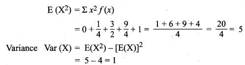 Samacheer Kalvi 12th Maths Solutions Chapter 11 Probability Distributions Ex 11.4 12