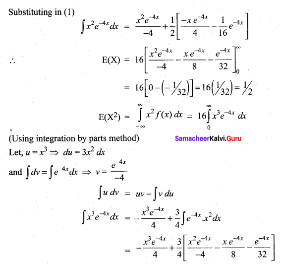 Samacheer Kalvi 12th Maths Solutions Chapter 11 Probability Distributions Ex 11.4 21