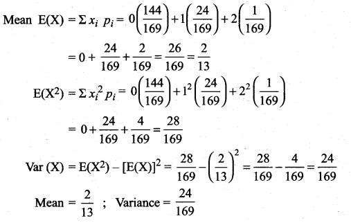 Samacheer Kalvi 12th Maths Solutions Chapter 11 Probability Distributions Ex 11.4 29