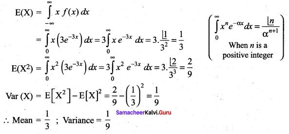 Samacheer Kalvi 12th Maths Solutions Chapter 11 Probability Distributions Ex 11.4 31