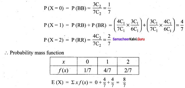 Samacheer Kalvi 12th Maths Solutions Chapter 11 Probability Distributions Ex 11.4 9