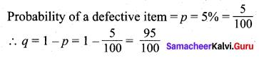 Samacheer Kalvi 12th Maths Solutions Chapter 11 Probability Distributions Ex 11.5 10