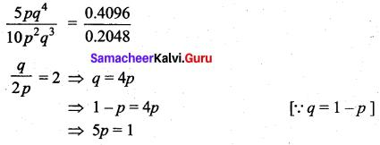 Samacheer Kalvi 12th Maths Solutions Chapter 11 Probability Distributions Ex 11.5 22