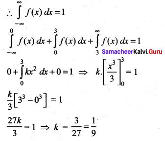 Samacheer Kalvi 12th Maths Solutions Chapter 11 Probability Distributions Ex 11.6 29