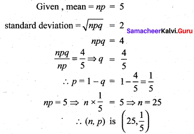 Samacheer Kalvi 12th Maths Solutions Chapter 11 Probability Distributions Ex 11.6 334