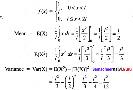 Samacheer Kalvi 12th Maths Solutions Chapter 11 Probability Distributions Ex 11.6 353