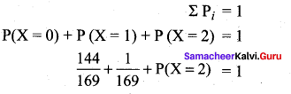 Samacheer Kalvi 12th Maths Solutions Chapter 11 Probability Distributions Ex 11.6 36