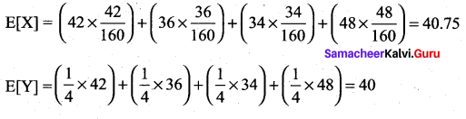 Samacheer Kalvi 12th Maths Solutions Chapter 11 Probability Distributions Ex 11.6 8