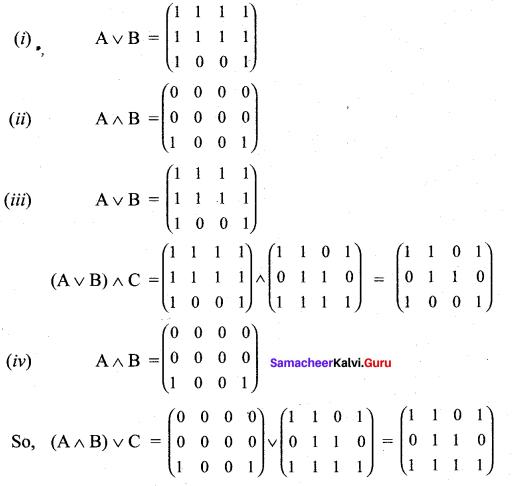 Samacheer Kalvi 12th Maths Solutions Chapter 12 Discrete Mathematics Ex 12.1 13