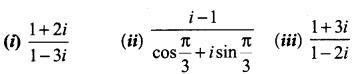 Samacheer Kalvi 12th Maths Solutions Chapter 2 Complex Numbers Ex 2.5 1