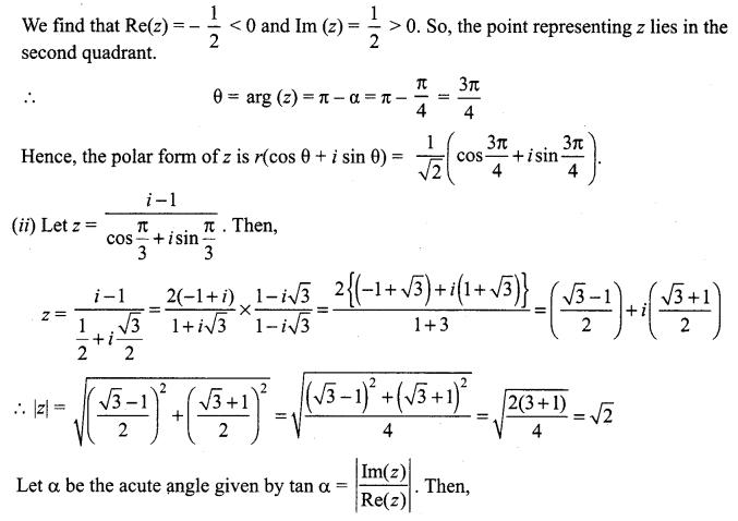 Samacheer Kalvi 12th Maths Solutions Chapter 2 Complex Numbers Ex 2.5 3