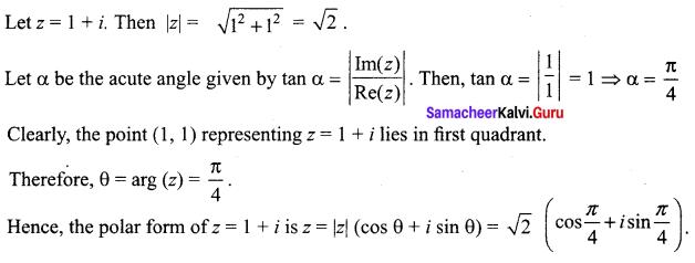 Samacheer Kalvi 12th Maths Solutions Chapter 2 Complex Numbers Ex 2.7 55