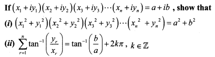 Samacheer Kalvi 12th Maths Solutions Chapter 2 Complex Numbers Ex 2.7 Q3