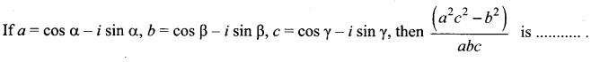 Samacheer Kalvi 12th Maths Solutions Chapter 2 Complex Numbers Ex 2.9 16