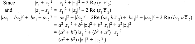 Samacheer Kalvi 12th Maths Solutions Chapter 2 Complex Numbers Ex 2.9 4