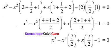 Exercise 3.1 Class 12 Maths State Board Chapter 3 Theory Of Equations Samacheer Kalvi