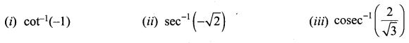 Samacheer Kalvi 12th Maths Solutions Chapter 4 Inverse Trigonometric Functions Ex 4.4 1