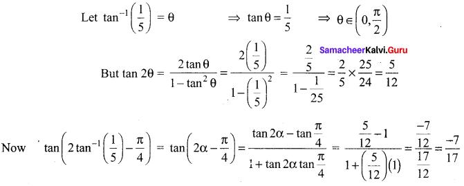 Samacheer Kalvi 12th Maths Solutions Chapter 4 Inverse Trigonometric Functions Ex 4.4 55