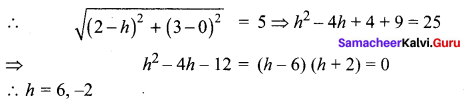 Class 12 Maths Chapter 5 Exercise 5.1 Two Dimensional Analytical Geometry Samacheer Kalvi