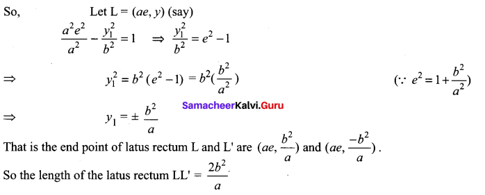 12th Math 5.2 Solution Chapter 5 Two Dimensional Analytical Geometry Samacheer Kalvi