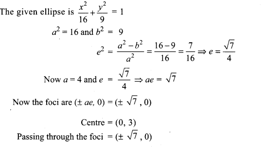 Samacheer Kalvi 12th Maths Solutions Chapter 5 Two Dimensional Analytical Geometry - II Ex 5.6 12