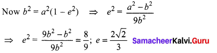 Samacheer Kalvi 12th Maths Solutions Chapter 5 Two Dimensional Analytical Geometry - II Ex 5.6 23