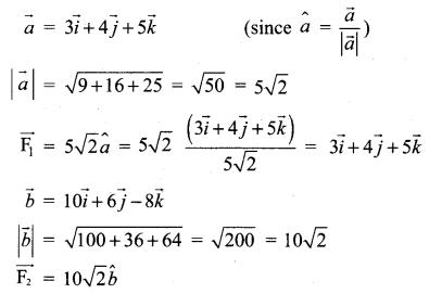 12 Maths Solutions Pdf Samacheer Kalvi Chapter 6 Applications Of Vector Algebra Ex 6.1