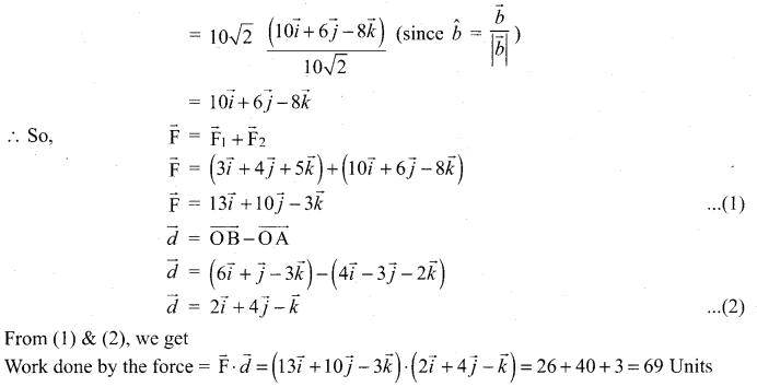 Samacheer Kalvi 12 Maths Guide Chapter 6 Applications Of Vector Algebra Ex 6.1