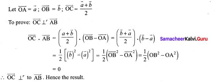 12th Maths Exercise 6.1 Solutions Chapter 6 Applications Of Vector Algebra Samacheer Kalvi