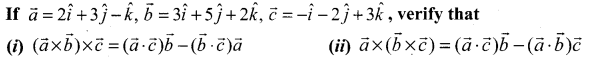 Samacheer Kalvi 12th Maths Solutions Chapter 6 Applications of Vector Algebra Ex 6.3 6