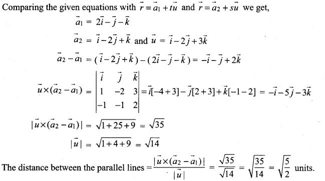 Samacheer Kalvi 12th Maths Solutions Chapter 6 Applications of Vector Algebra Ex 6.5 25
