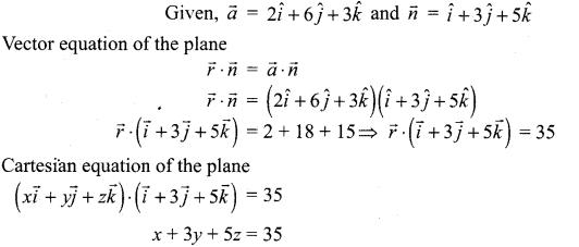 Samacheer Kalvi 12th Maths Solutions Chapter 6 Applications of Vector Algebra Ex 6.6 3