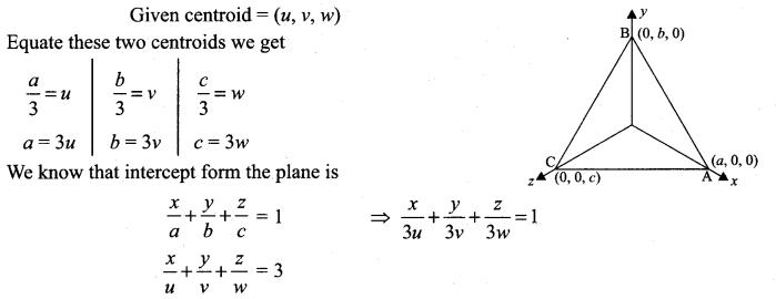 Samacheer Kalvi 12th Maths Solutions Chapter 6 Applications of Vector Algebra Ex 6.6 6