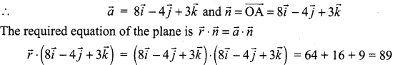 Samacheer Kalvi 12th Maths Solutions Chapter 6 Applications of Vector Algebra Ex 6.6 9