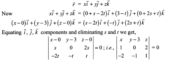 Samacheer Kalvi 12th Maths Solutions Chapter 6 Applications of Vector Algebra Ex 6.7 22