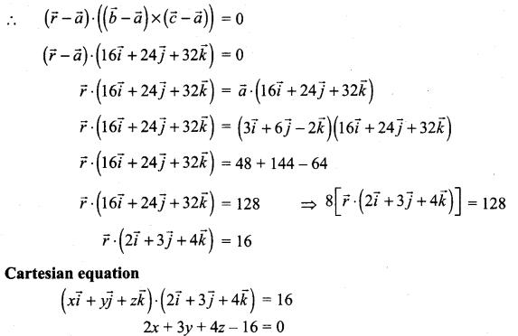 Samacheer Kalvi 12th Maths Solutions Chapter 6 Applications of Vector Algebra Ex 6.7 8