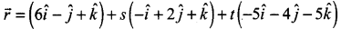 Samacheer Kalvi 12th Maths Solutions Chapter 6 Applications of Vector Algebra Ex 6.7 9