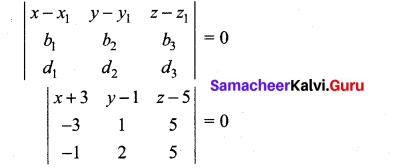 Samacheer Kalvi 12th Maths Solutions Chapter 6 Applications of Vector Algebra Ex 6.8 17