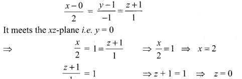 Samacheer Kalvi 12th Maths Solutions Chapter 6 Applications of Vector Algebra Ex 6.9 10